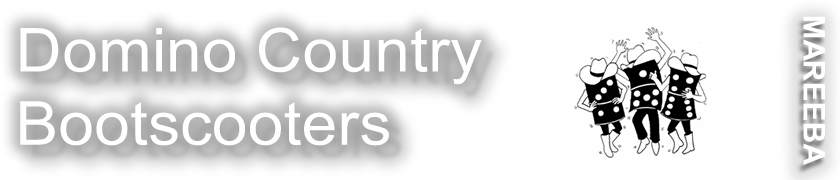 Domino Counrty Bootscooters Logo